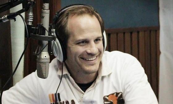 El Head Coach del seleccionado durante la entrevista en Pedí Palos radio