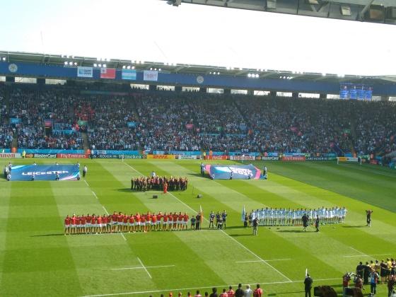 Los Pumas vs Tonga