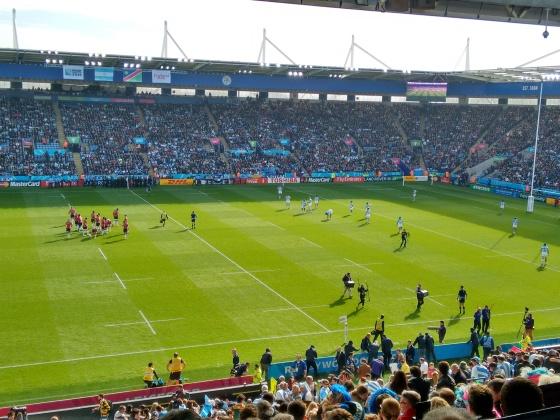 Los Pumas en Leicester